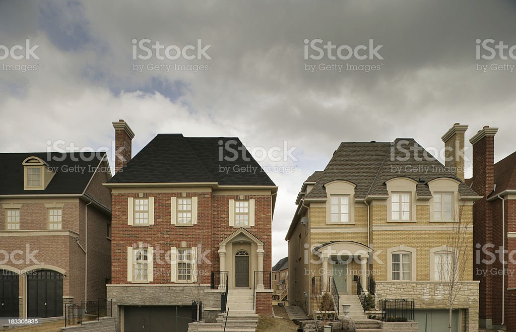 Any street, your town royalty-free stock photo