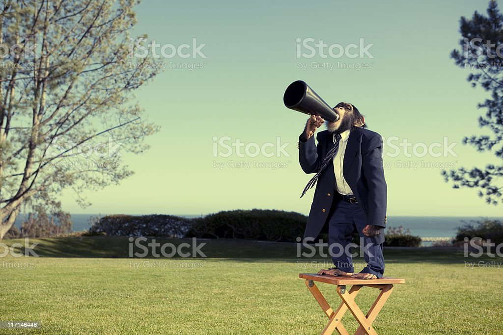 Anybody Out There? stock photo