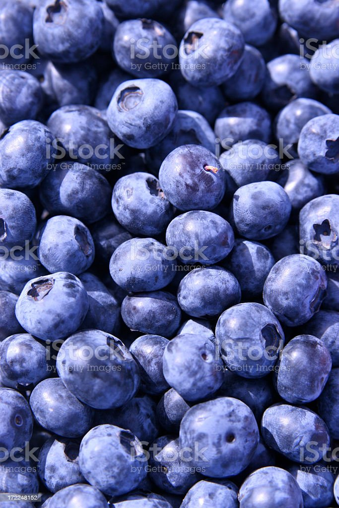 Anyone for Blueberries? royalty-free stock photo
