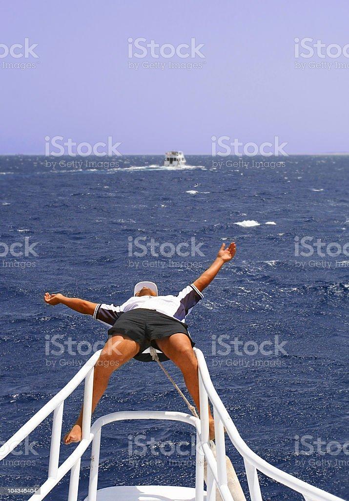Anyone Seen The Captain royalty-free stock photo