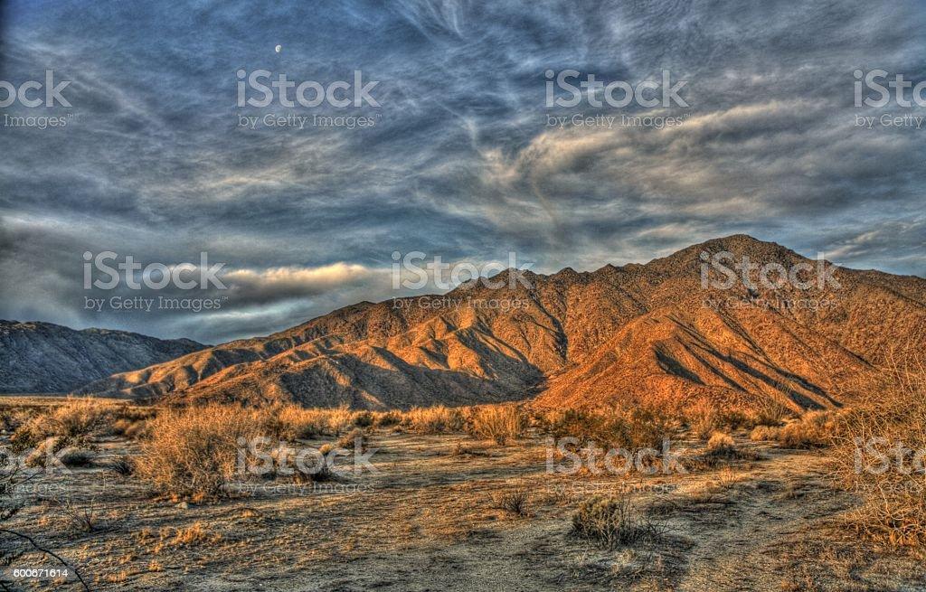 Anza Borrego Mountains stock photo