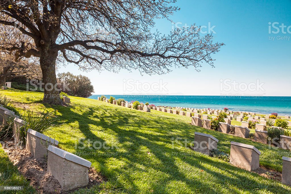 Anzac Cove stock photo