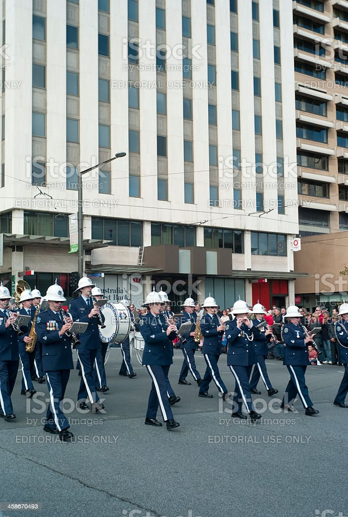 Anzac Day Parade stock photo