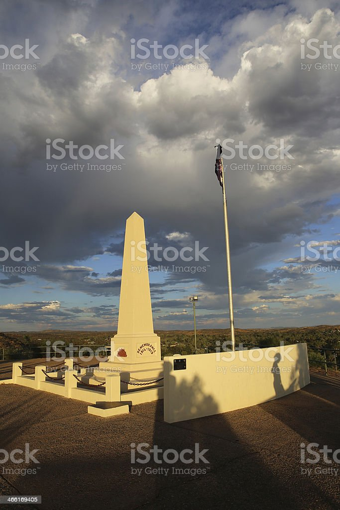 Anzac Hill royalty-free stock photo