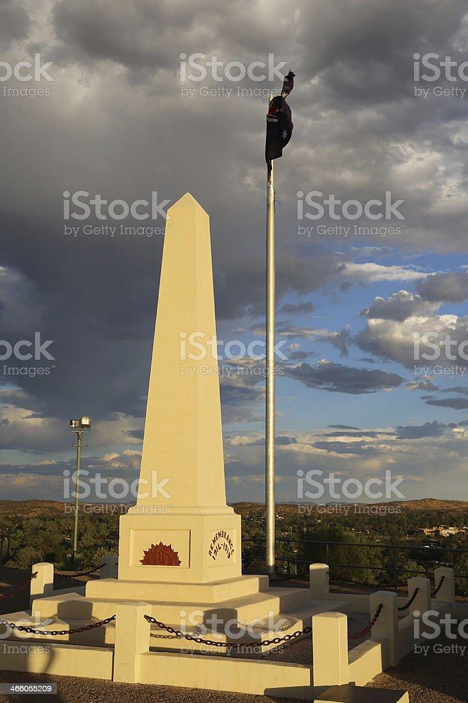 Anzac Memorial stock photo