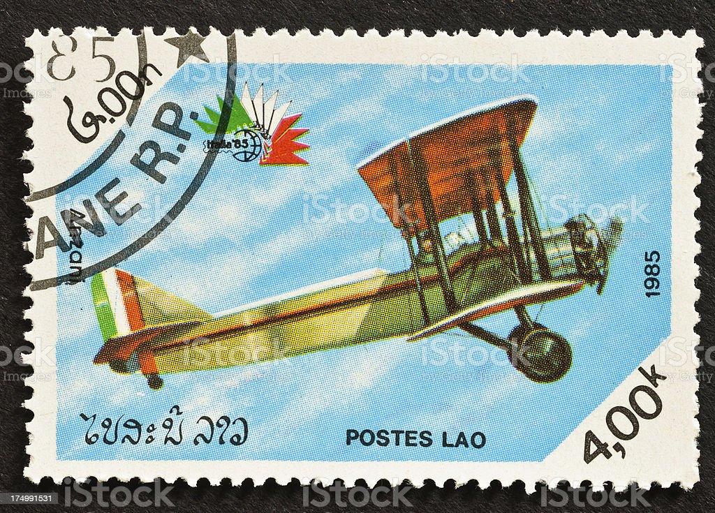 Anzani Biplane stock photo