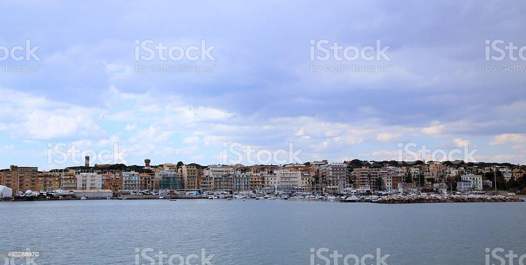 Anzio and Nettuno, Italia stock photo