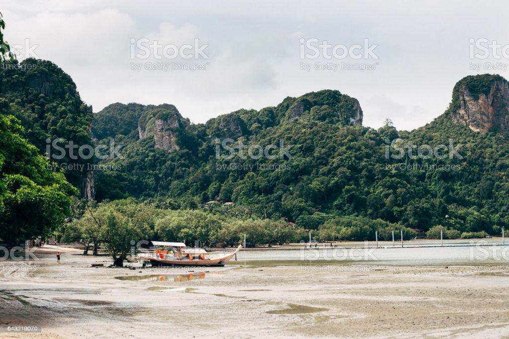 Ao Nang beach. stock photo