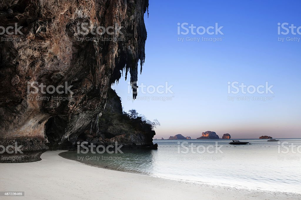 Ao nang beach, Railay, Krabi, The best beach in Thailand stock photo