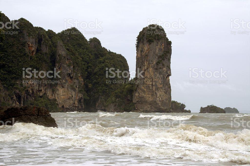 Ao Nang beach, Thailand stock photo