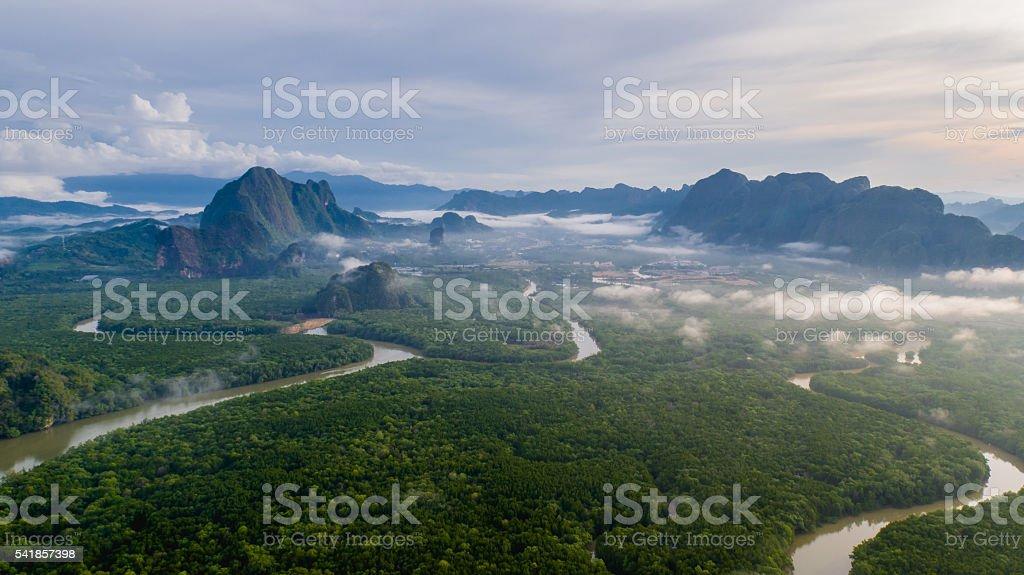Ao Phang Nga National Park stock photo