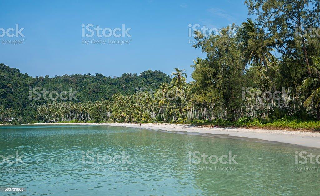Ao Prao beach, Ko Kut island, Thailand stock photo