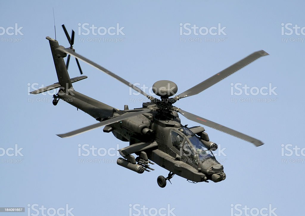 Apache AH Mk1 royalty-free stock photo
