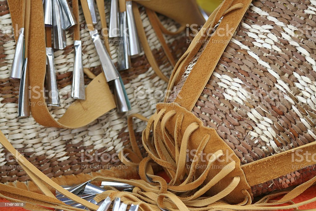Apache Burden Baskets stock photo