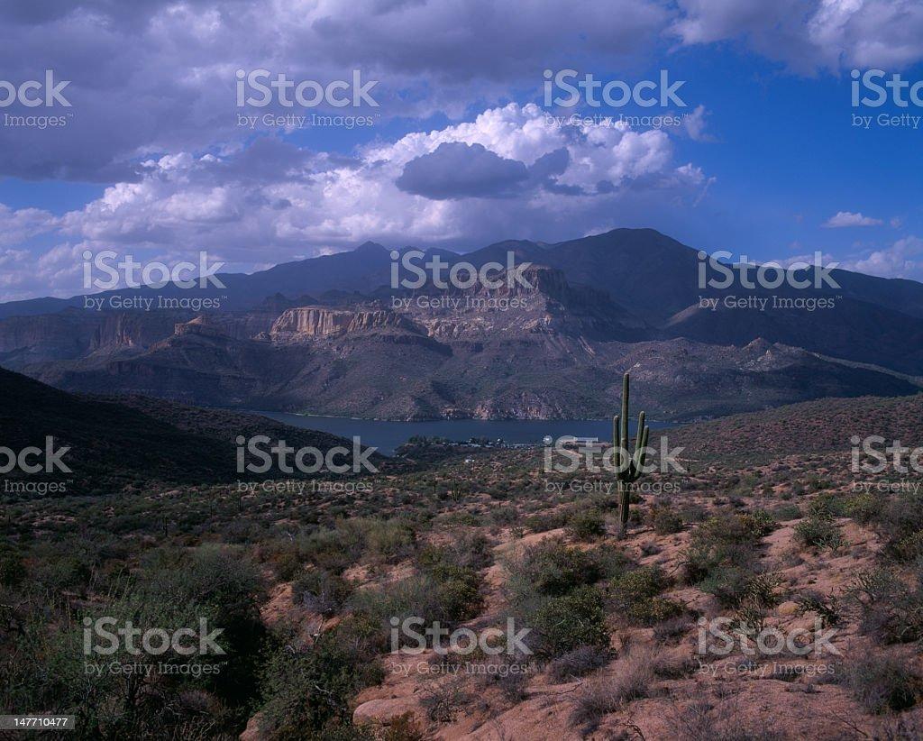Apache Lake, AZ stock photo