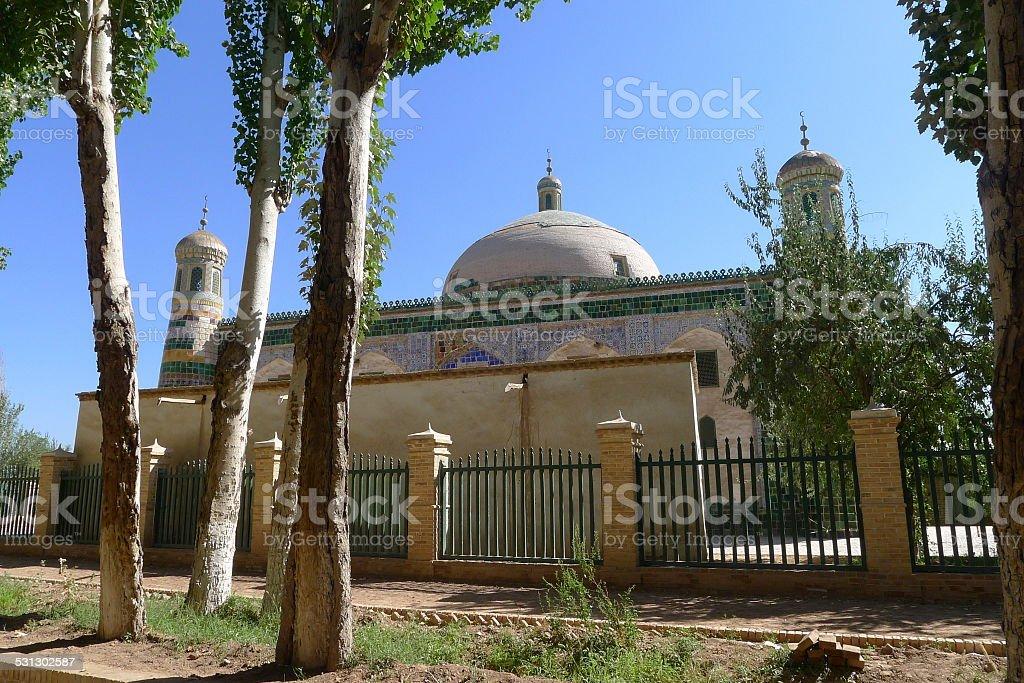 Apak Hoja Mazzar, so called Xiangfei Tomb, Kashgar, Xinjiang, China stock photo