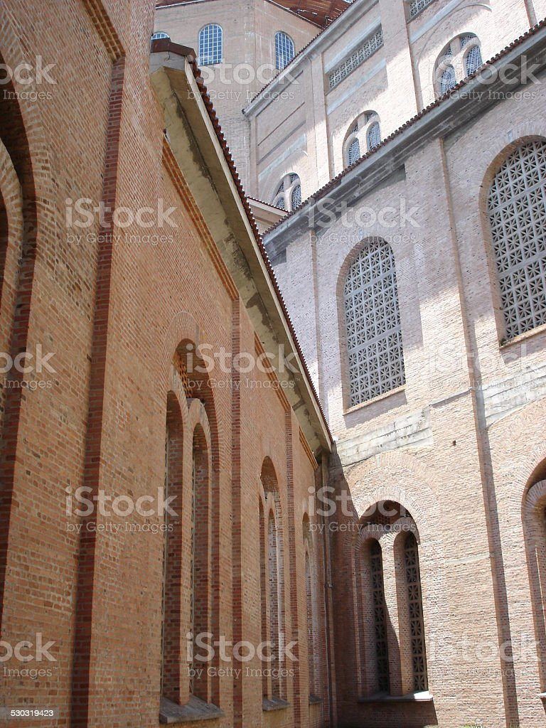 Aparecida do Norte church stock photo