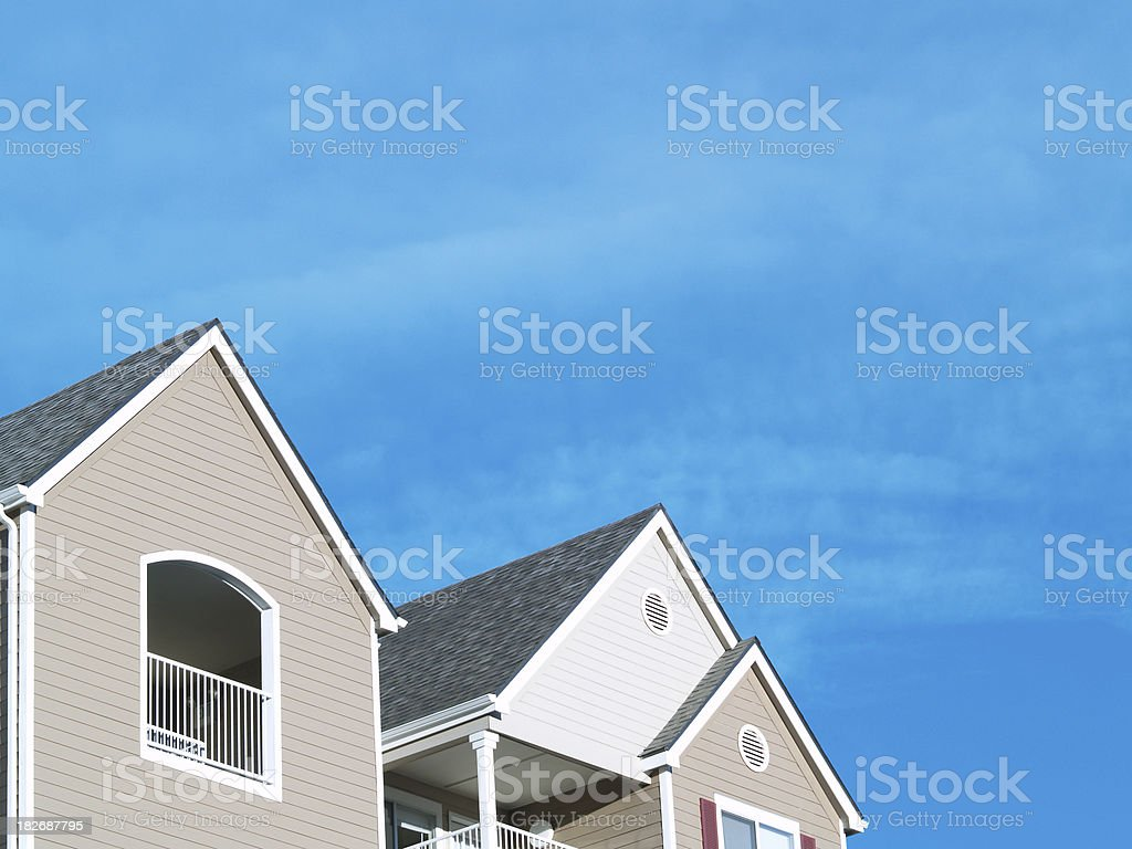 Apartment A-Frame royalty-free stock photo