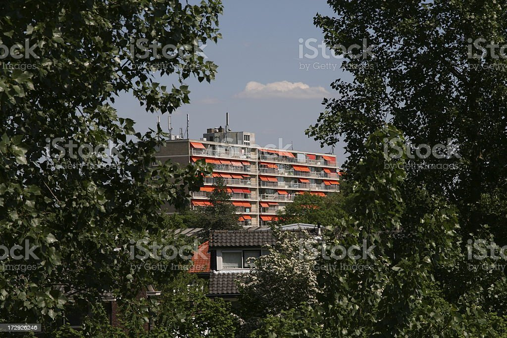 Apartment Block 6 royalty-free stock photo