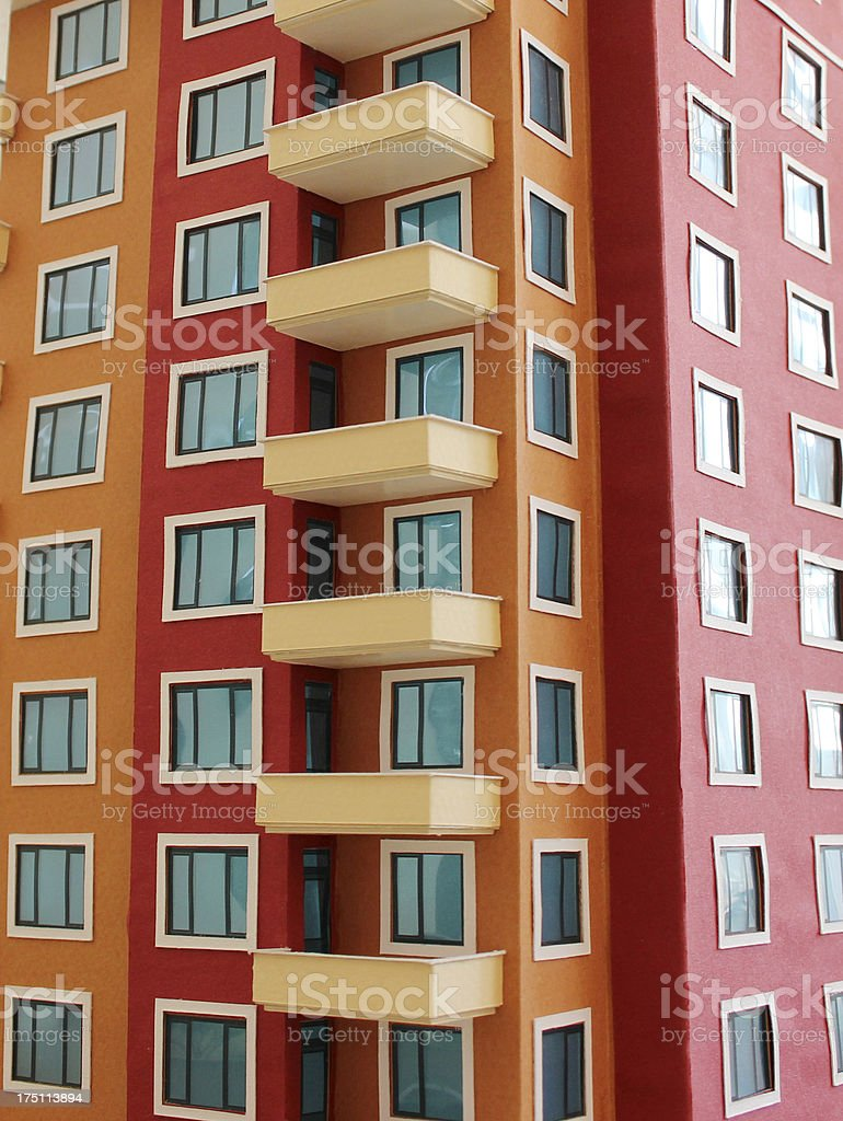 Apartment Block royalty-free stock photo
