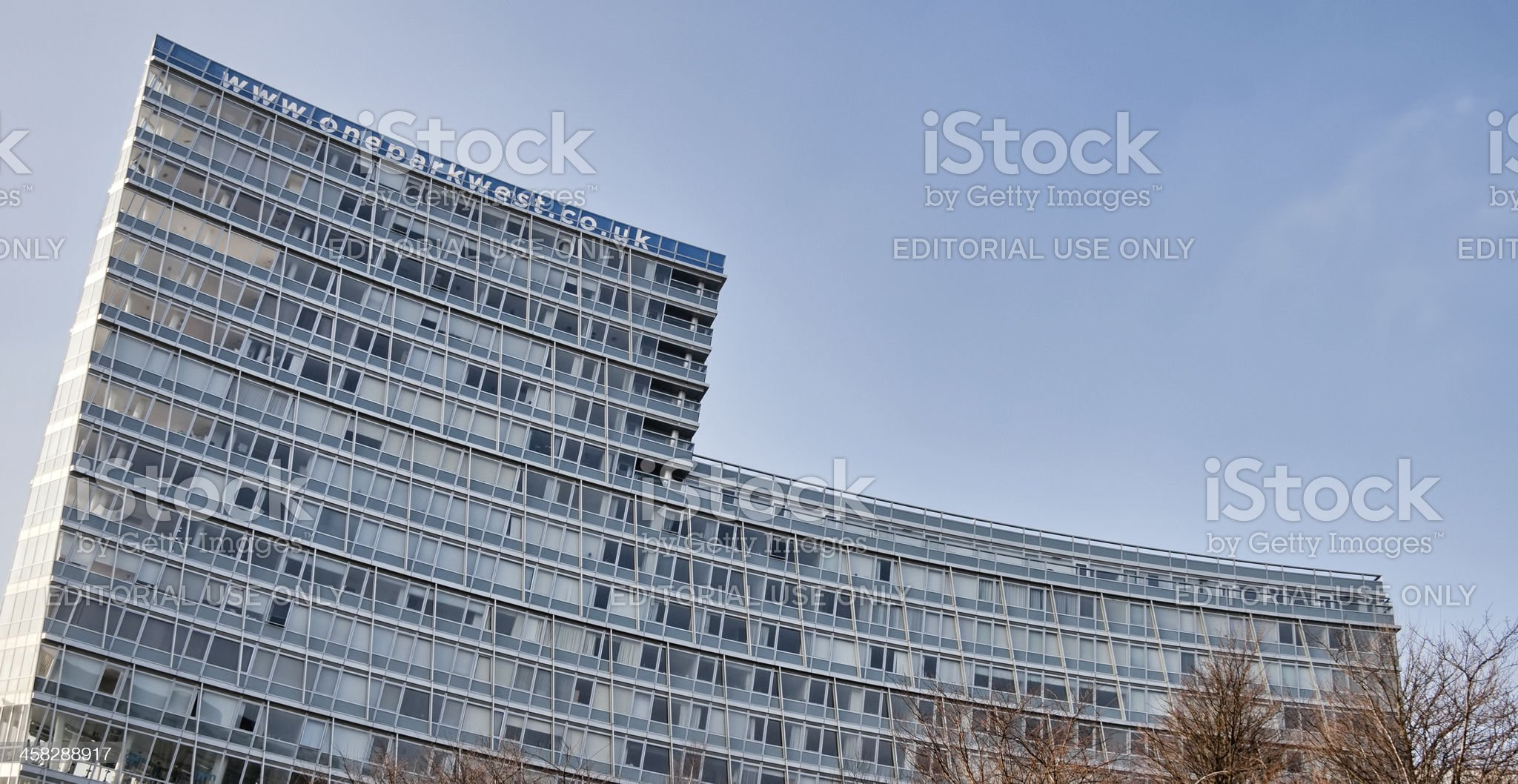 Apartment Block. royalty-free stock photo