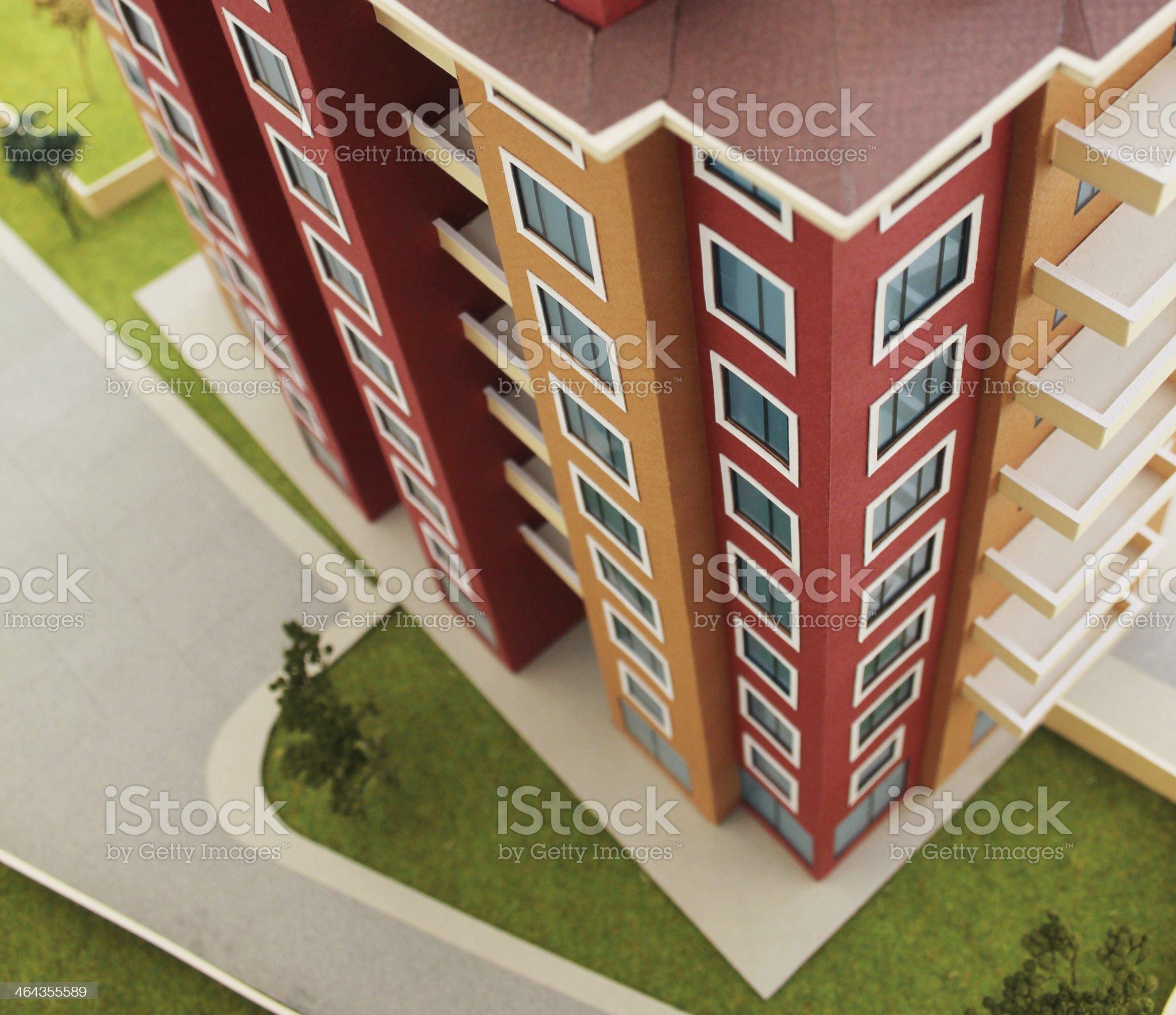 Apartment Block royalty-free stock photo