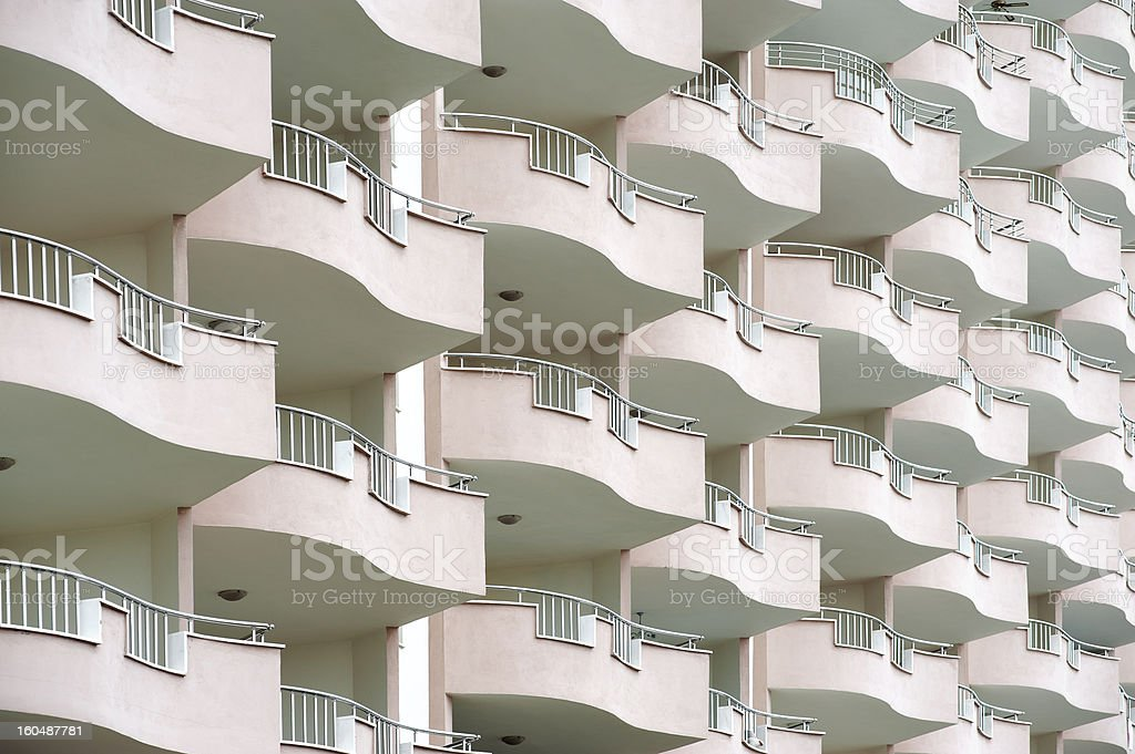Apartment building royalty-free stock photo