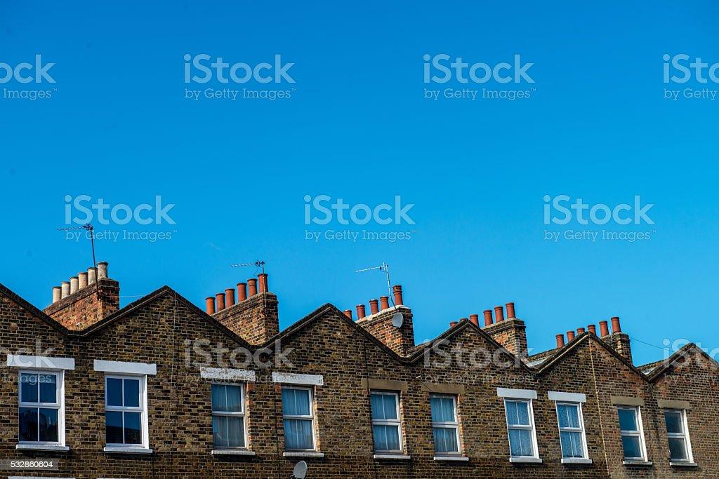 Apartment Building stock photo