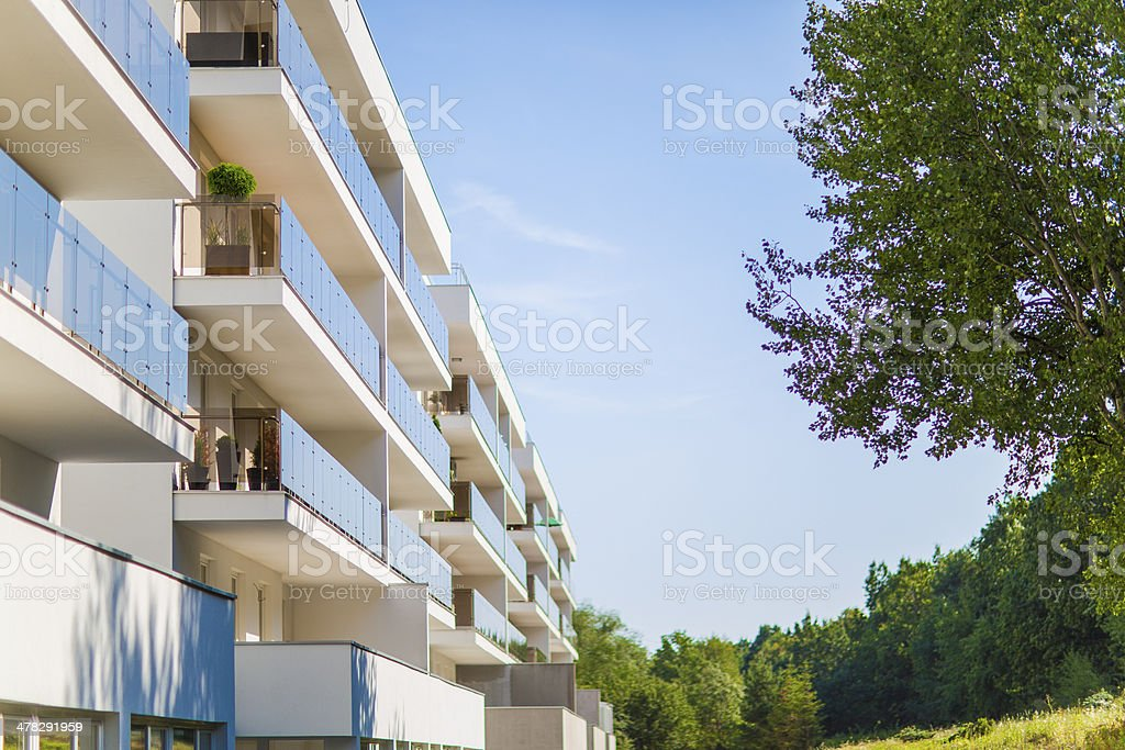 Apartment Building Pine Grove royalty-free stock photo