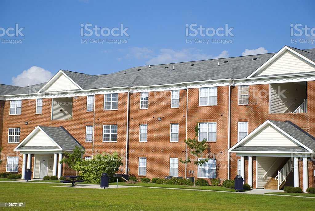 Apartment Complex royalty-free stock photo