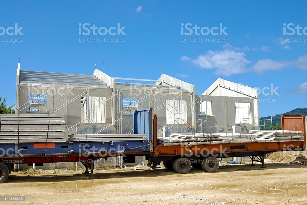 Apartment construction site#3 royalty-free stock photo