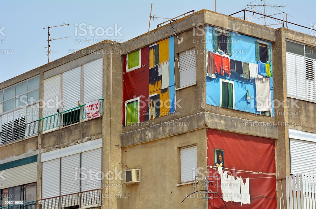 Apartment for rent in Zikhron Yaakov, Israel stock photo