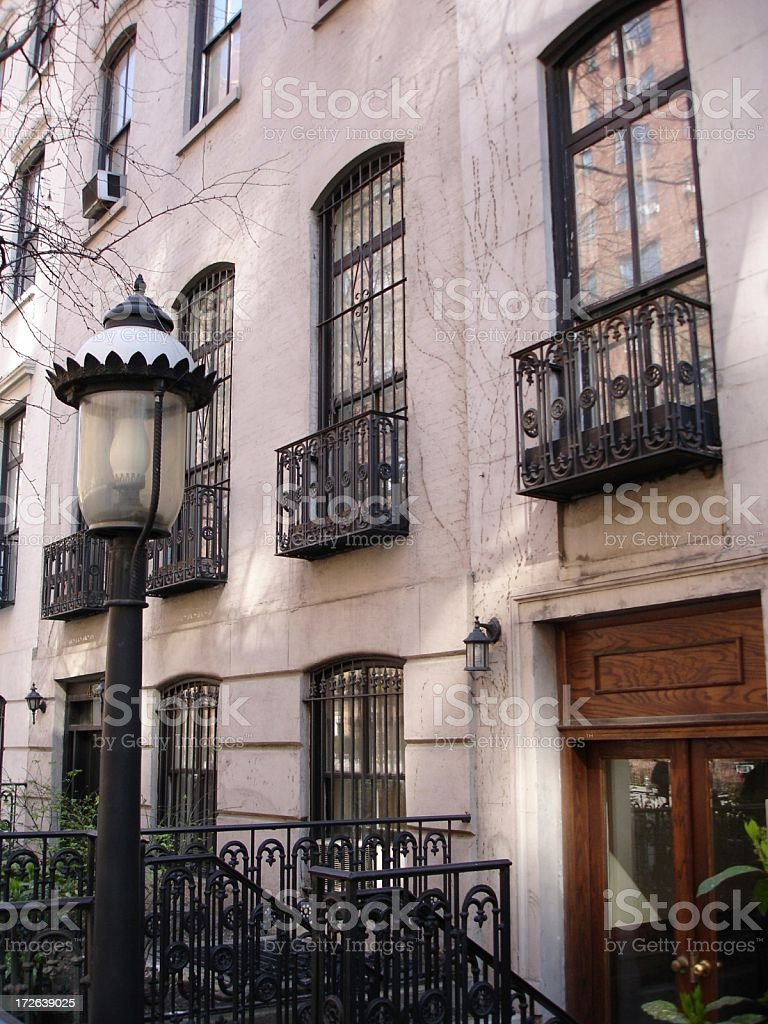 Apartment in Chelsea, NYC (2) royalty-free stock photo