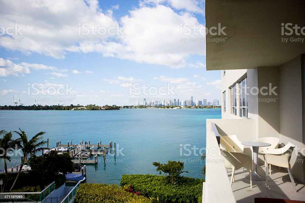 Apartment In South beach royalty-free stock photo