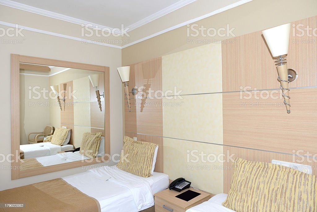 Apartment in the luxury hotel, Bodrum, Turkey royalty-free stock photo