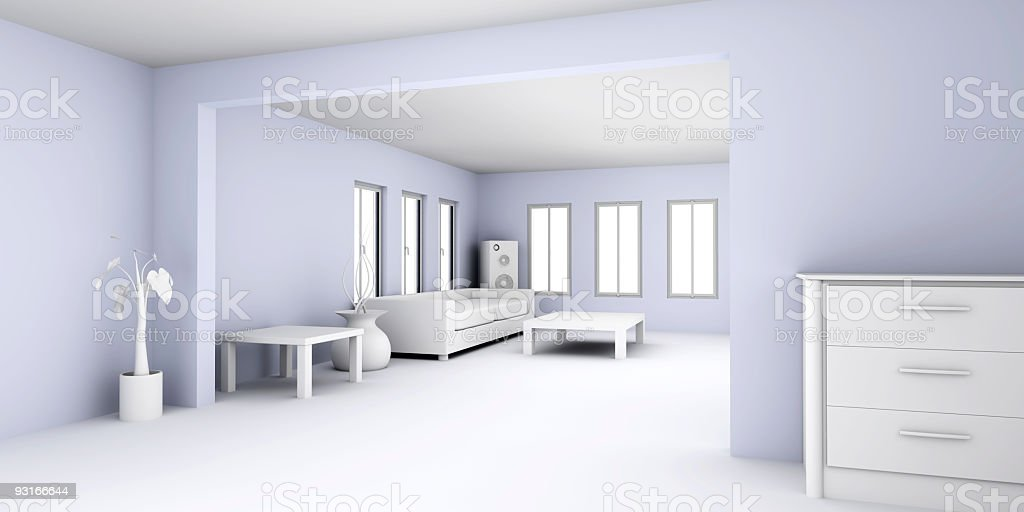 Apartment Interior royalty-free stock photo