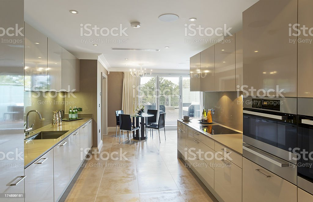 apartment kitchen royalty-free stock photo