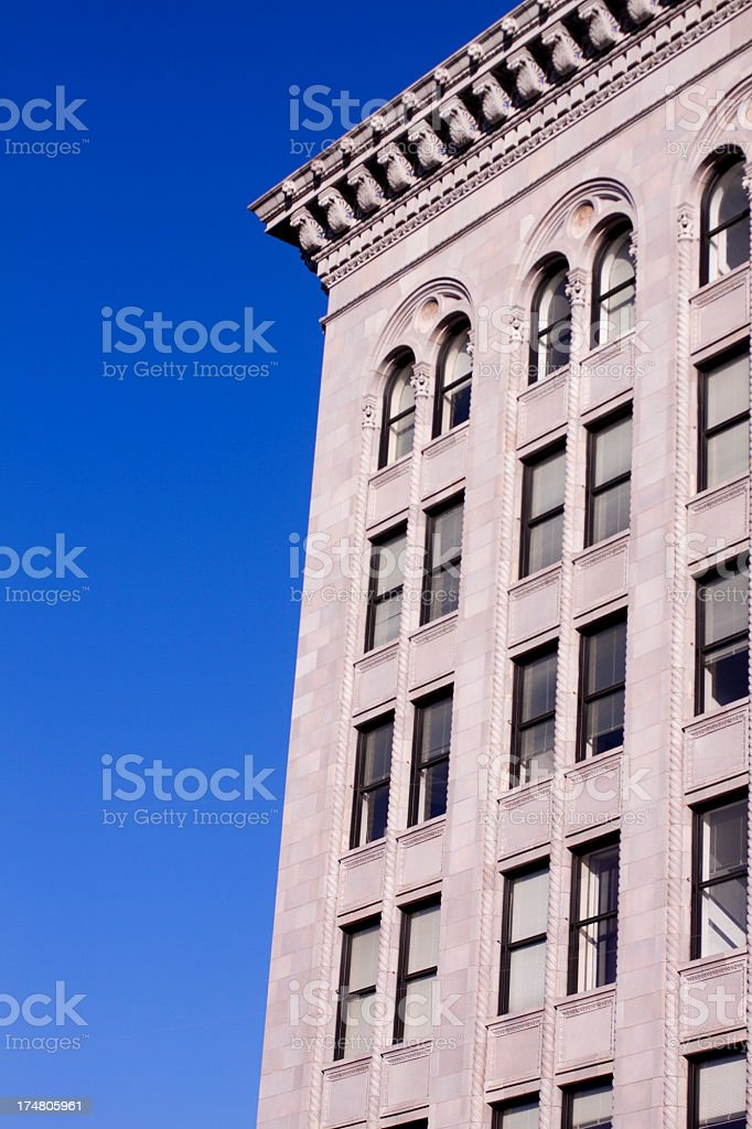 Apartment or Office Building royalty-free stock photo