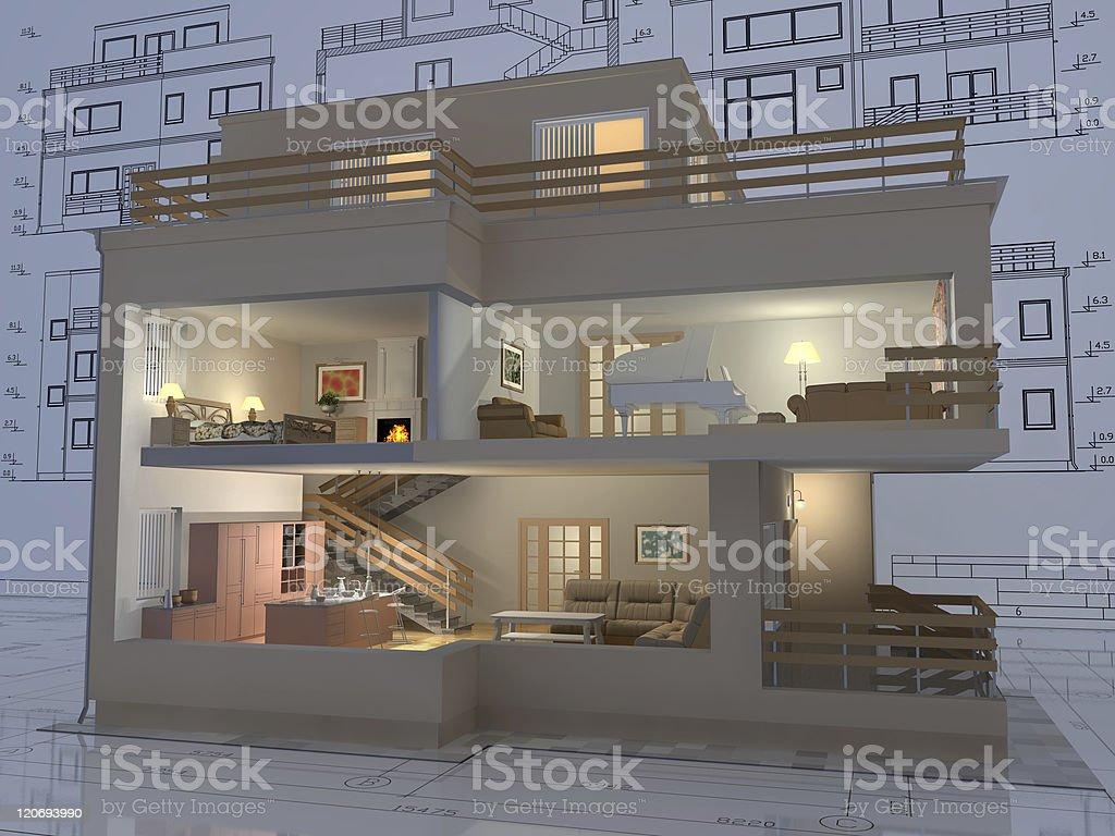 Apartment. stock photo