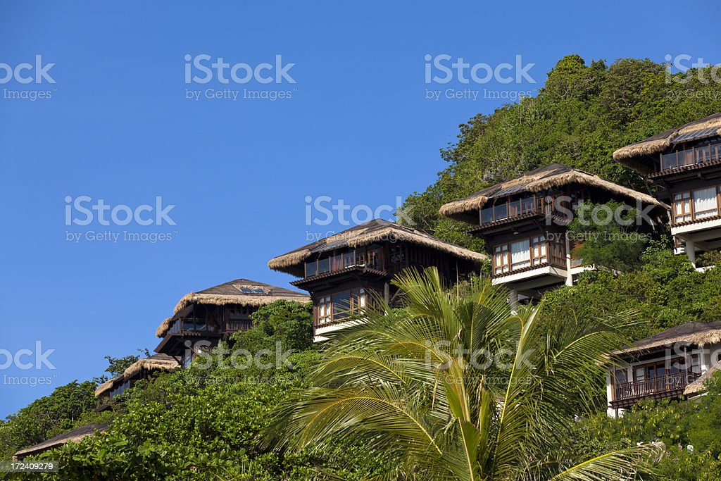 apartment resort royalty-free stock photo