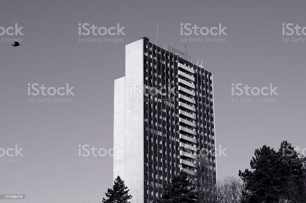 apartment skyscraper royalty-free stock photo