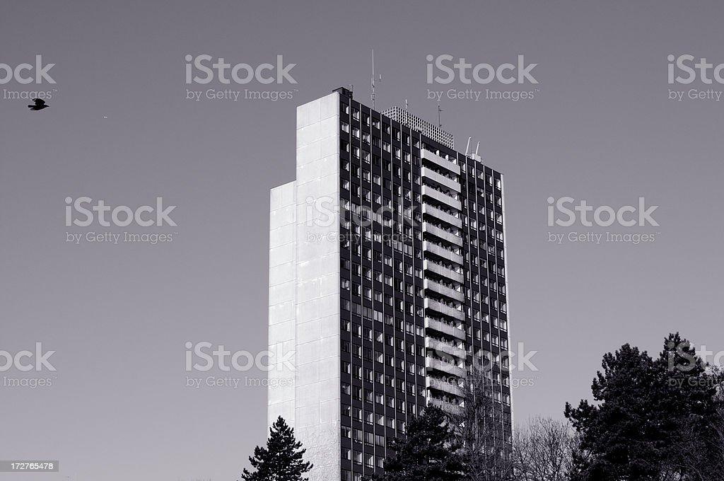 apartment skyscraper stock photo