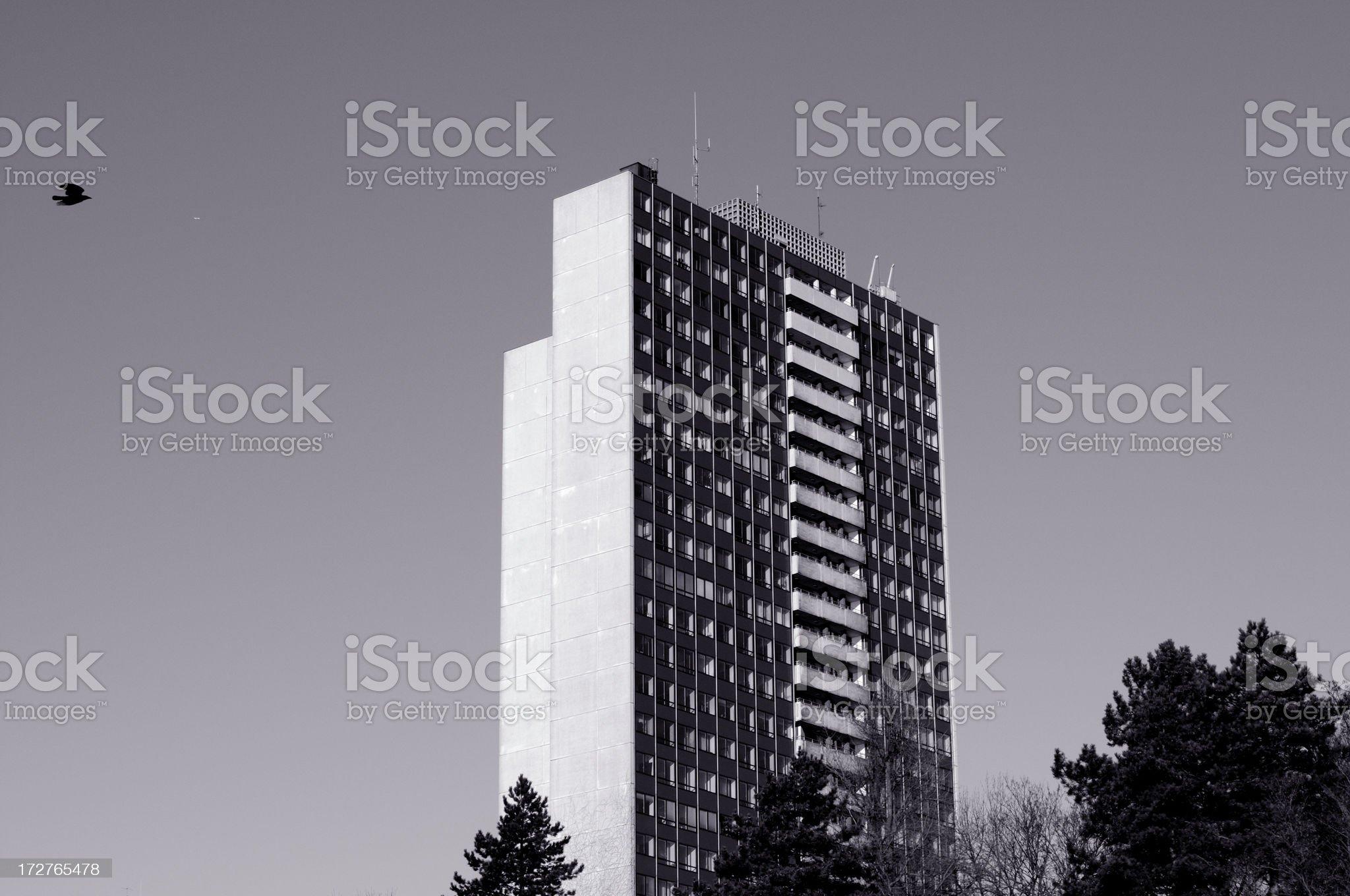 apartment skyscraper royalty-free stock photo