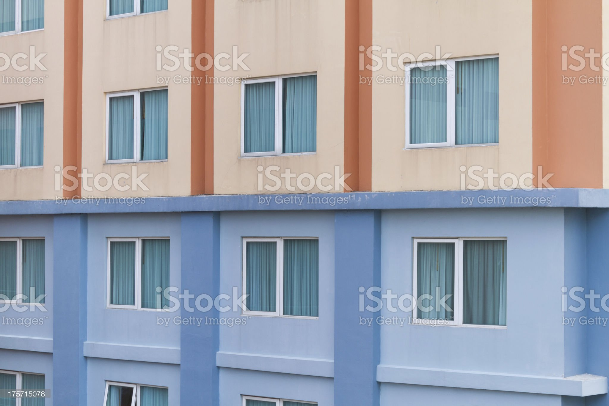 apartment two colors royalty-free stock photo