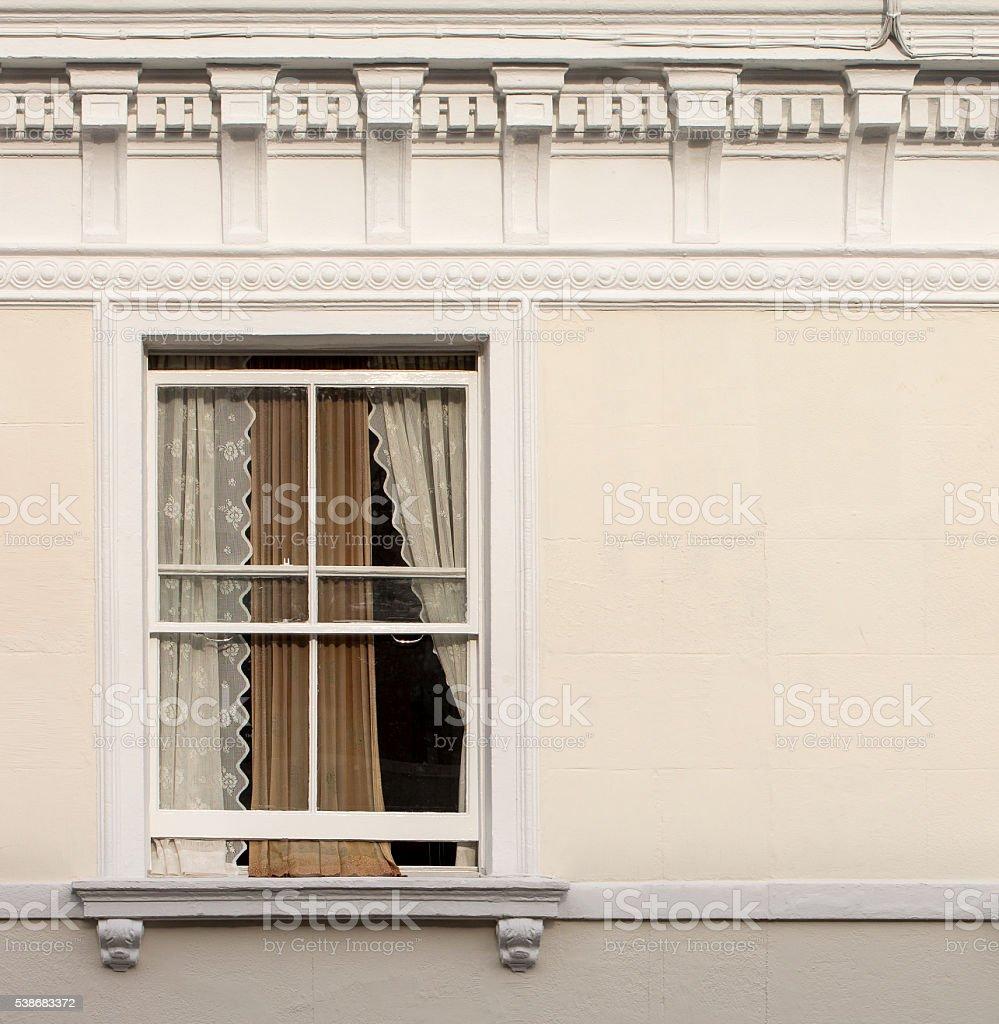 Apartment Window. stock photo