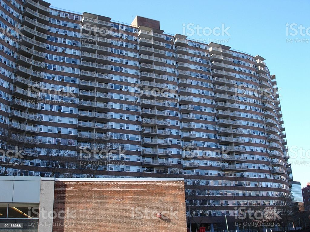 Apartment/Hotel/Condo Building royalty-free stock photo