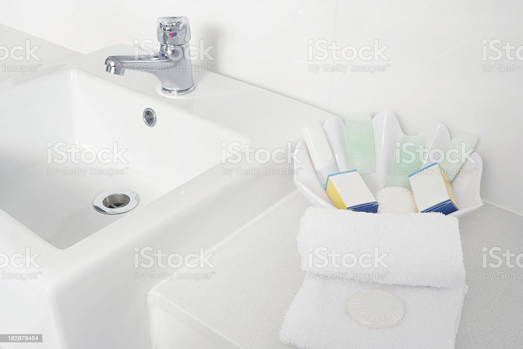 Apartment's Bathroom royalty-free stock photo