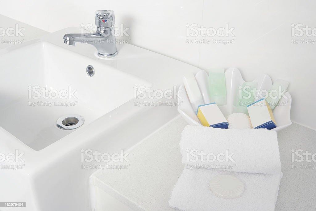 Apartment's Bathroom stock photo