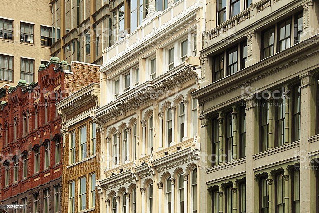 Apartments in Downtown Washington DC royalty-free stock photo
