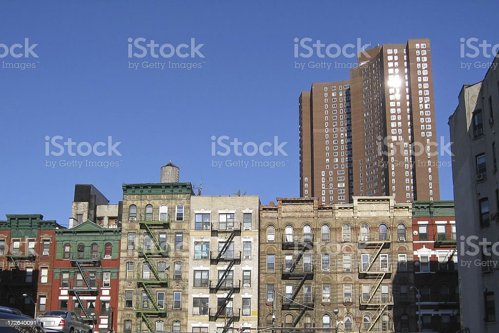 Apartments In Lower East Side royalty-free stock photo
